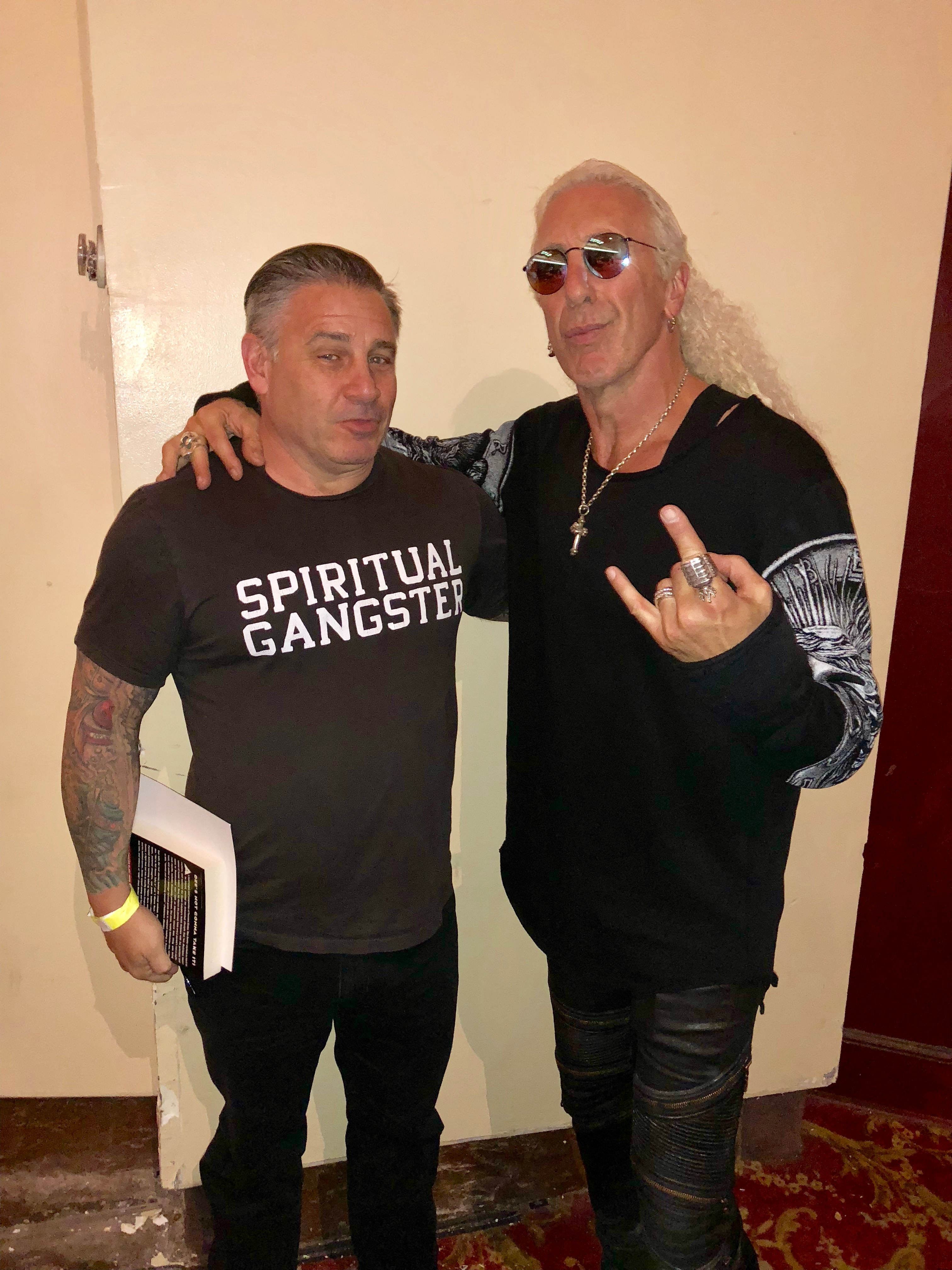 Tom Scarda and Dee Snider